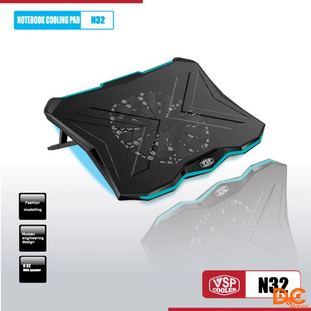 Fan -  Laptop VSP Cooler N32 LED