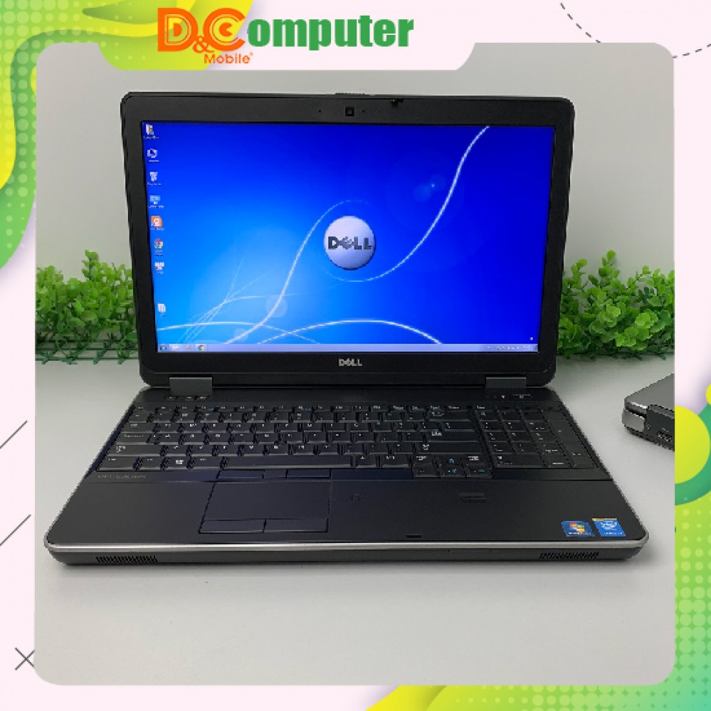 Laptop cũ Dell Latitude E6540 Core i7 4800MQ Ram 8GB SSD 256GB