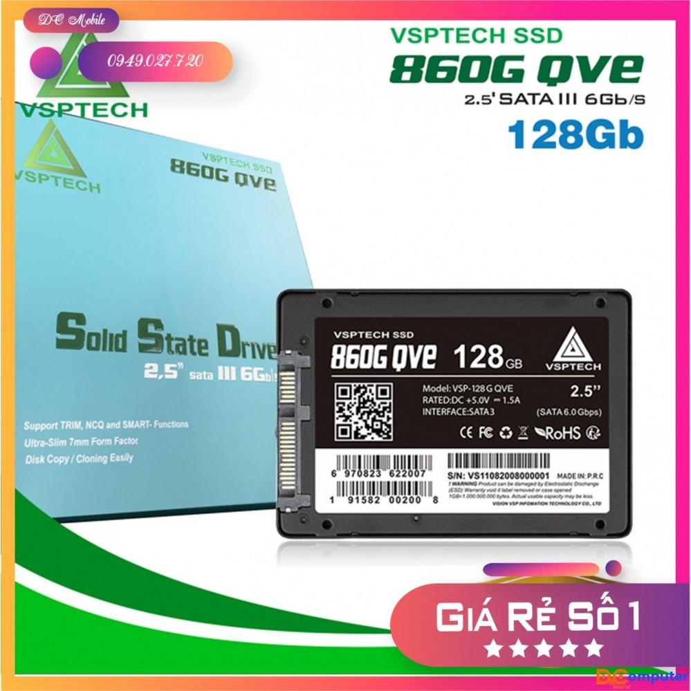 Ổ cứng SSD VSPTECH 860G QVE 128Gb chính hãng - bảo hành 3 năm - DC Mobile