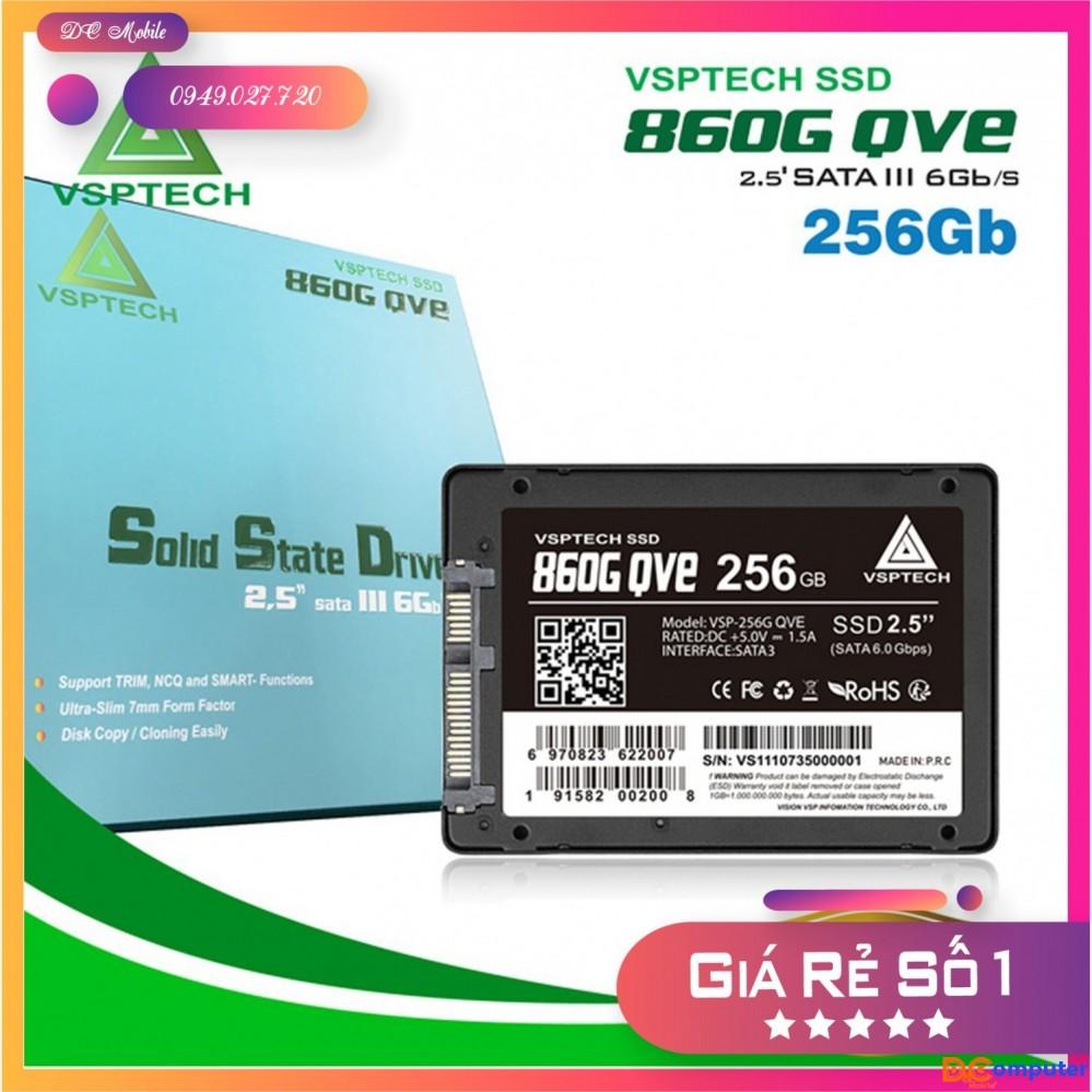 Ổ cứng SSD VSPTECH 860G QVE 256GB Chính hãng - Bảo hành 3 năm - DC Mobile