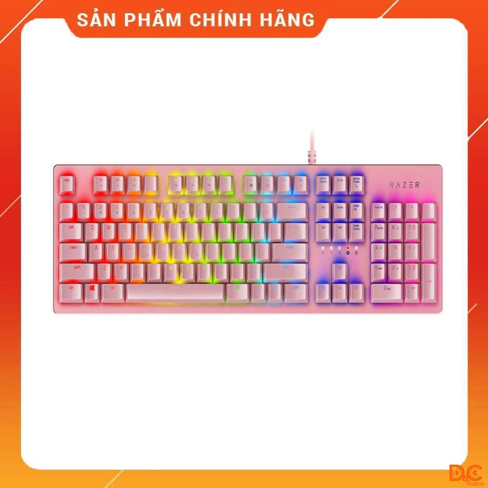Razer Huntsman – Opto-Mechanical Gaming Keyboard - Quartz
