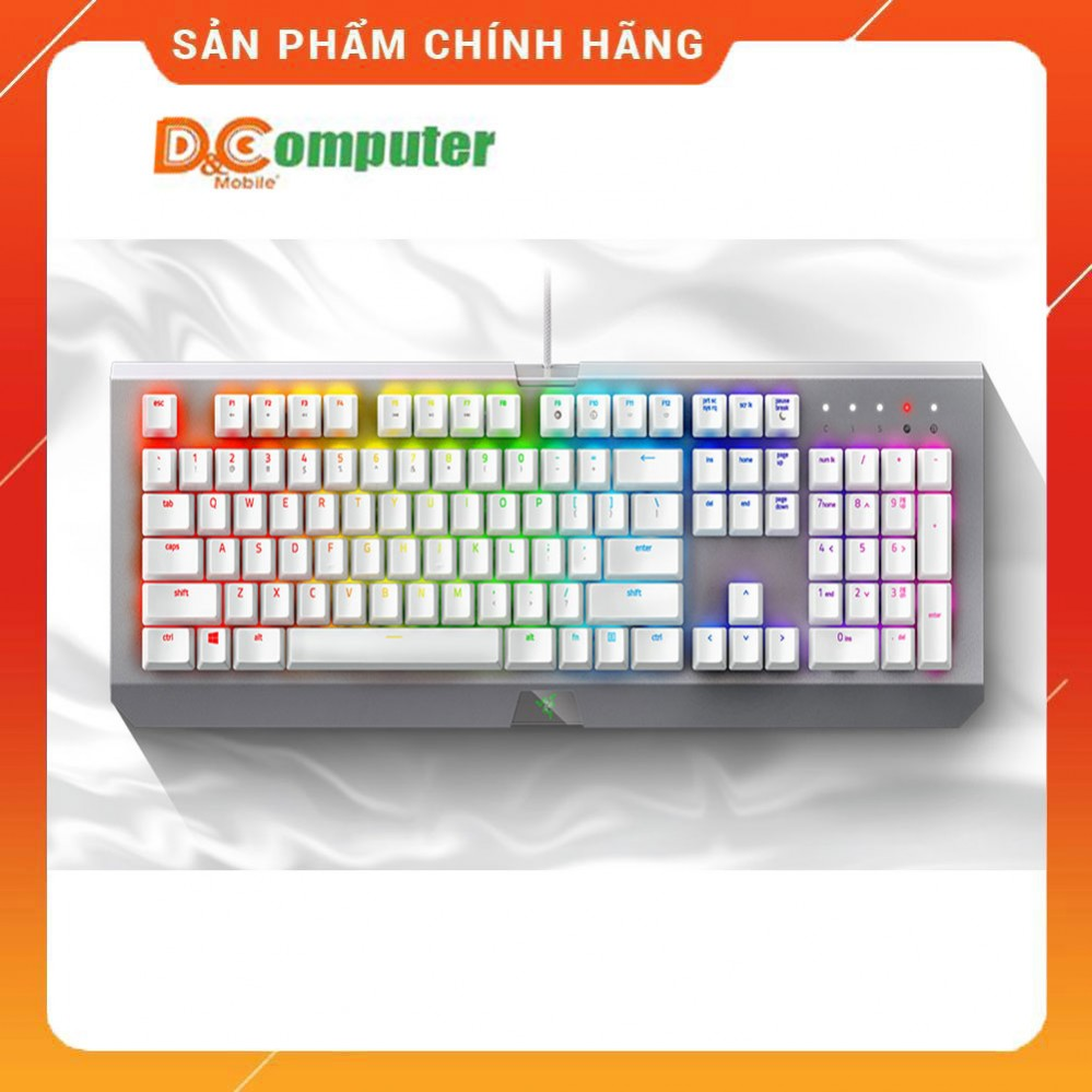 Razer BlackWidow Lite – Silent Mechanical Gaming Keyboard - (Orange Switch)