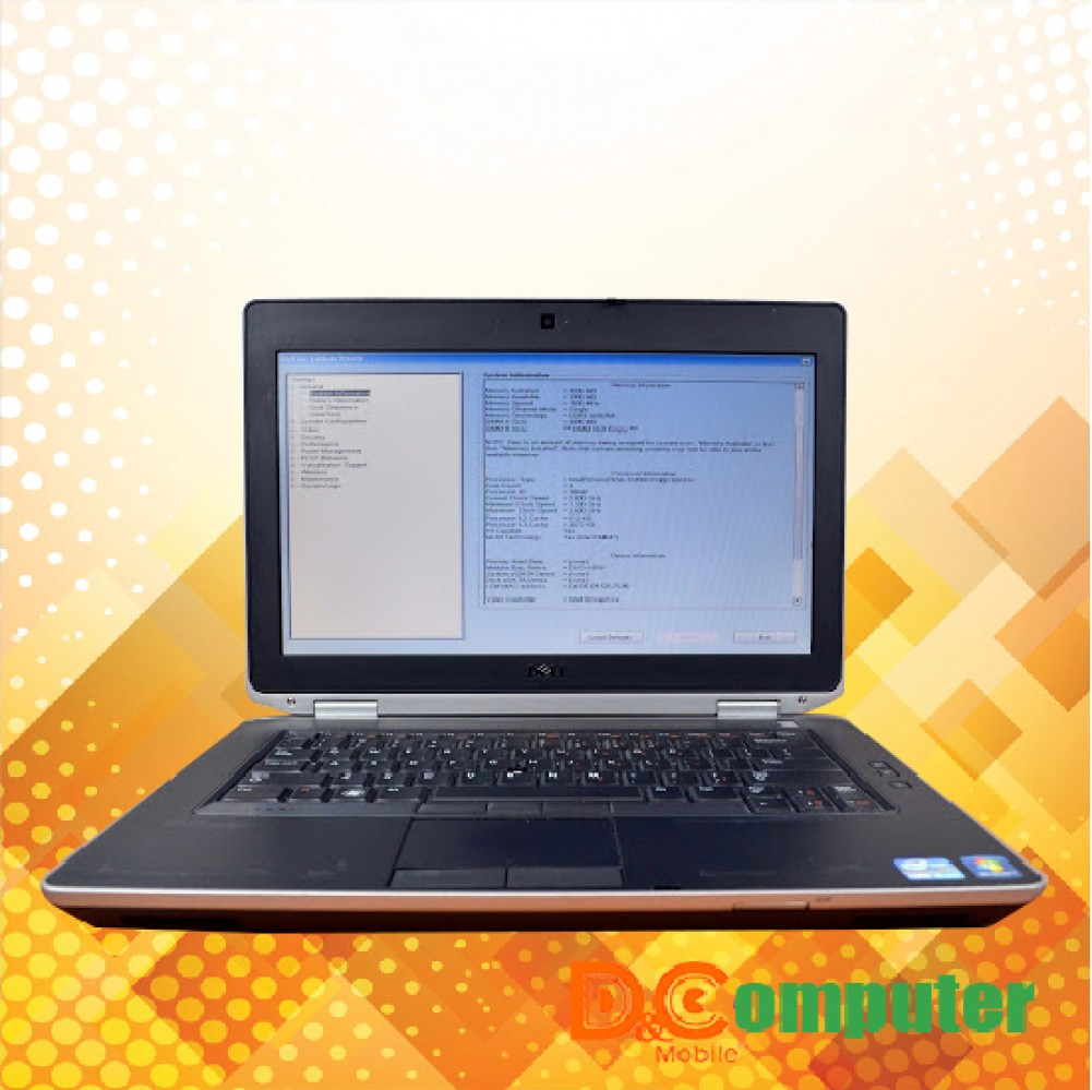 Laptop cũ Dell Latitude E6430U Core I5