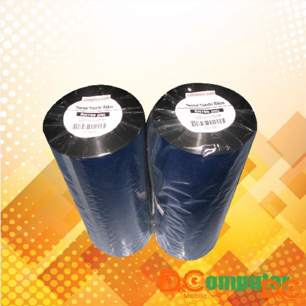Mực in mã vạch Premium Wax Ribbon 80mmx300m