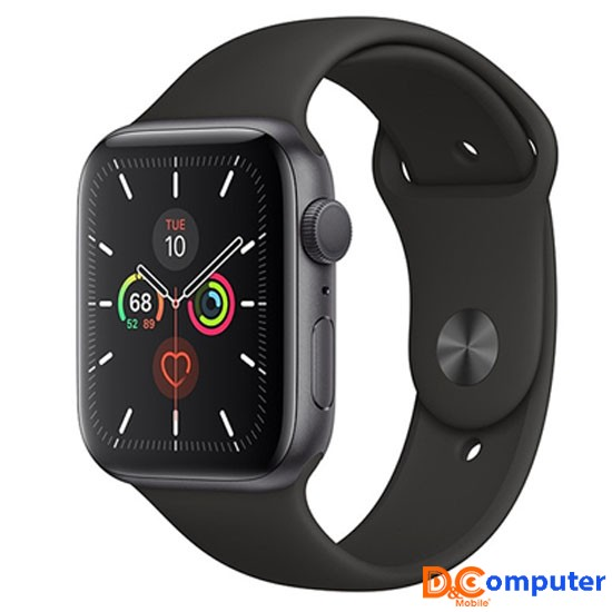 Apple Watch S5 GPS 44mm Viền Nhôm màu đen (VF2) 1